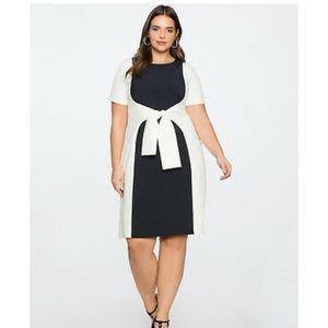 Eloquii Color Block Shift Dress